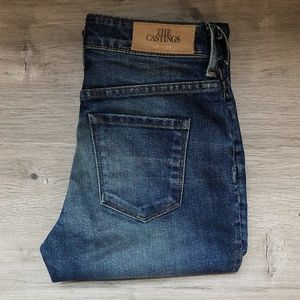 ARITZIA / THE CASTINGS / High Rise Cropped Jeans